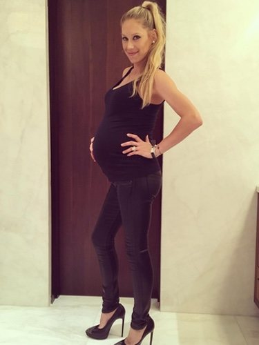 Anna Kournikova embarazada