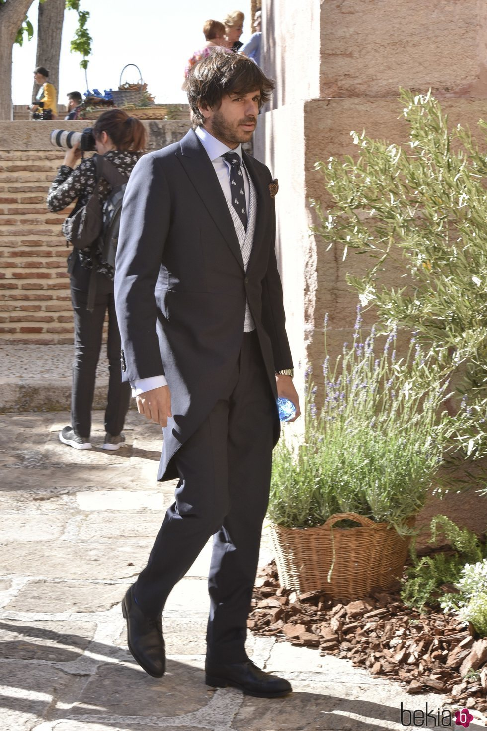 Álvaro Falcó en una boda en Málaga