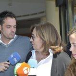 La viuda y los hijos de José María Íñigo sobrecogidos tras la pérdida