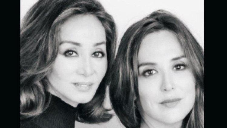 Tamara Falcó junto a Isabel Preysler para felicitar el Día de la Madre 2018