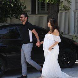 Eva Longoria celebra la baby shower de su hijo junto a José Antonio Bastón