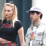 Joe Jonas y Sophie Turner, de paseo en pareja por Nueva York
