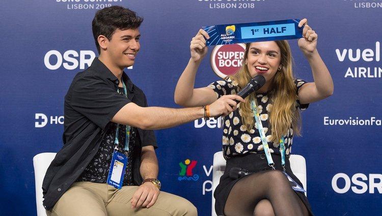 Alfred y Amaia desvelan la posición aproximada en la que actuarán en Eurovisión 2018