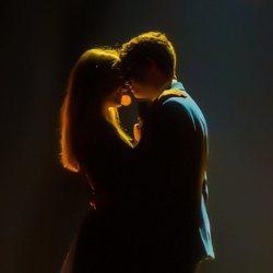 Alfred y Amaia, muy románticos sobre el escenario en el segundo ensayo antes de Eurovisión 2018