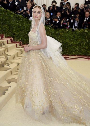 Kate Bosworth en la alfombra roja de la Gala MET 2018