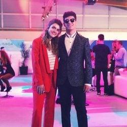 Alfred y Amaia en la semifinal de Eurovisión 2018