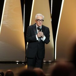 Martin Scorsese en la ceremonia de apertura del Festival de Cannes de 2018