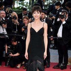 Úrsula Corberó en la alfombra roja del Festival de Cannes de 2018