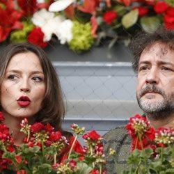 José Luis García Pérez y Cristina Alarcón en el Madrid Open 2018