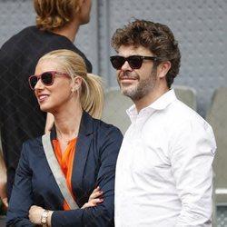 Anne Igartiburu y Pablo Heras-Casado en el Madrid Open 2018