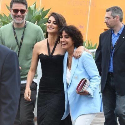 Inma Cuesta y Penélope Cruz en el Festival de Cannes de 2018