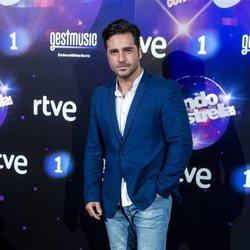 David Bustamante en la presentación de 'Bailando con la estrellas'