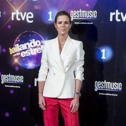 Amelia Bono en la presentación de 'Bailando con la estrellas'