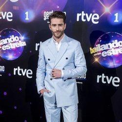 Pelayo Díaz en la presentación de 'Bailando con las estrellas'