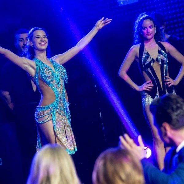 Famosos en la presentación de 'Bailando con las estrellas'