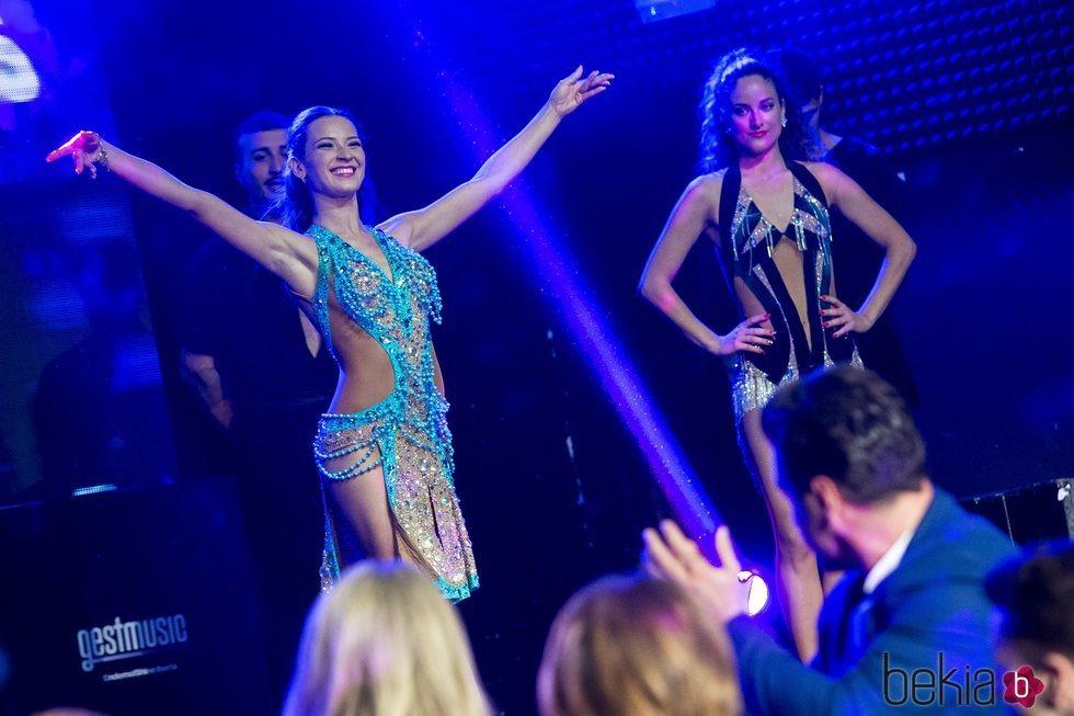 Yana Olina en la presentación de 'Bailando con las estrellas'