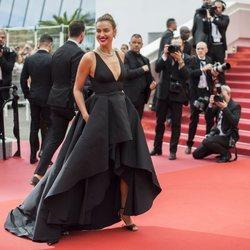 Irina Shayk en la alfombra roja del Festival de Cannes de 2018
