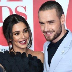 Liam Payne junto a Cheryl Cole en los BRIT 2016