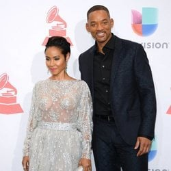 Will Smith y Jada Pinkett Smith en los Premios Grammy Latinos de 2015