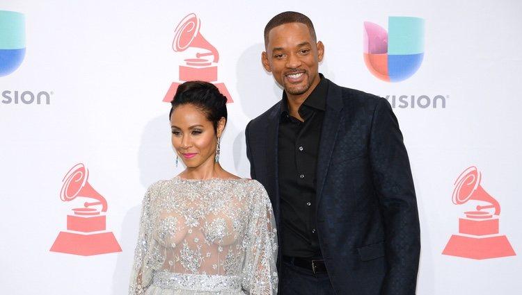 Will Smith y Jada Pinkett Smith en los Premios Grammy Latinos de 2015