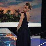 María Lapiedra durante la gala 9 de 'Supervivientes 2018'