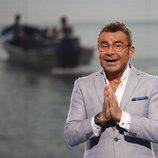 Jorge Javier Vázquez con gesto divertido en gala 9 de 'Supervivientes 2018'