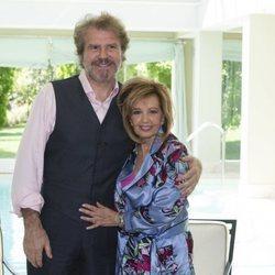 María Teresa Campos y Bigote Arrocet, muy cariñosos en la presentación de su disco 'Una bonita historia'