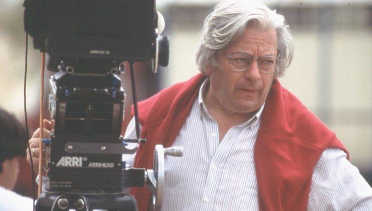 Antonio Mercero durante un rodaje
