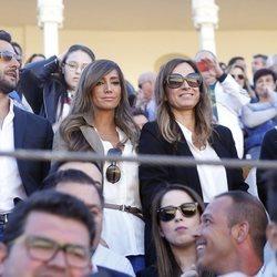 Elena, Sonia y Marta González con Antonio Velázquez en el homenaje a Dámaso González