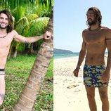 El antes y el después de Logan tras su paso por 'Supervivientes 2018'