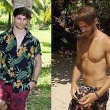 El antes y el después de Sergio Carvajal tras su paso por 'Supervivientes 2018'