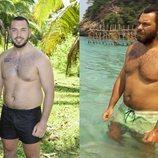 El antes y el después de Alberto Isla tras su paso por 'Supervivientes 2018'