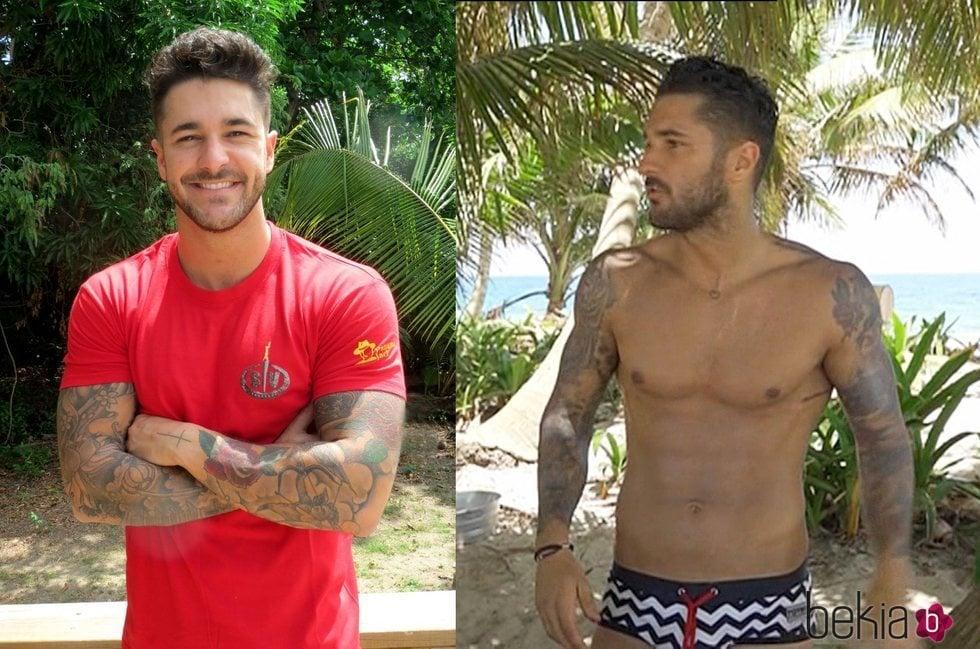 El antes y el después de Hugo Paz tras su paso por 'Supervivientes 2018'