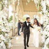 Primera foto de Cesc Fábregas y Daniella Semaan el día de su boda