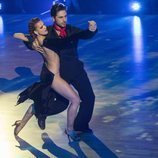 David Bustamante y Yana Olina disfrutando en el escenario de 'Bailando con las estrellas'