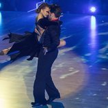 David Bustamante con Yana Olina en el escenario de 'Bailando con las estrellas'