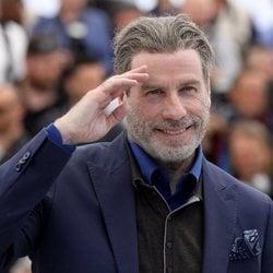 John Travolta en el Festival de Cine de Cannes