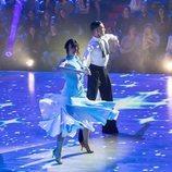 Patry Jordan en su primera actuación de 'Bailando con las estrellas'