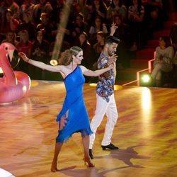 Amelia Bono en su primera actuación de 'Bailando con las estrellas'