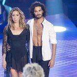 Gemma Mengual durante su primera actuación en 'Bailando con las estrellas'