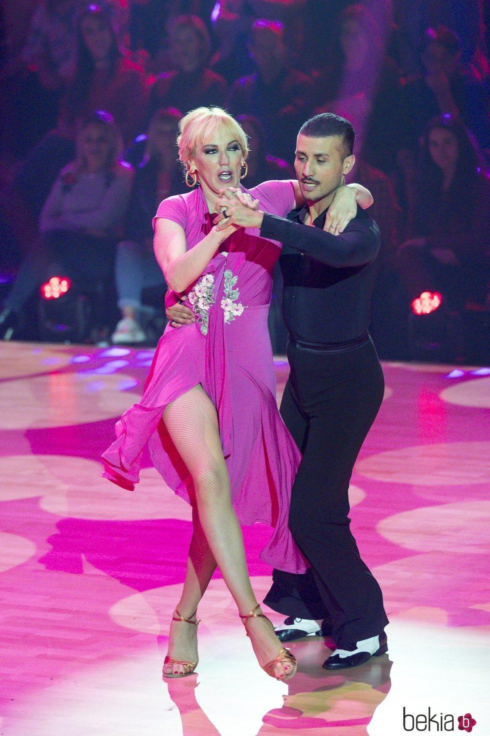 Topacio Fresh en la primera actuación de 'Bailando con las estrellas'