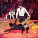 Javier Hernanz en su primera actuación de 'Bailando con las estrellas'