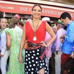 Lucía Hoyos en la Romería del Rocío 2018
