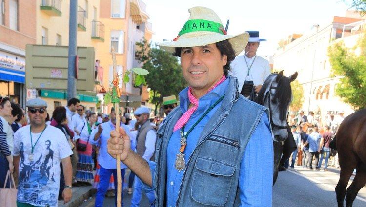 Francisco Rivera en El Rocío 2018