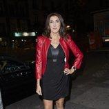 Paz Padilla llegando a la fiesta de Belén Esteban tras ganar su batalla judicial a Toño Sanchís
