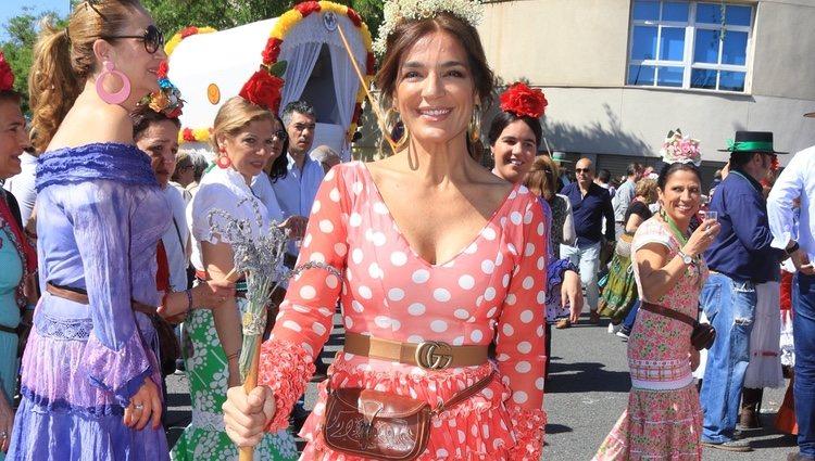 Raquel Bollo en El Rocío 2018