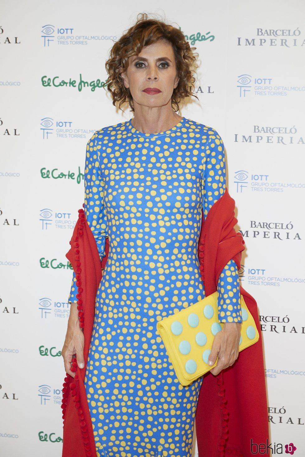 Ágatha Ruiz de la Prada en el photocall de los Premios Bombines de San Isidro 2018