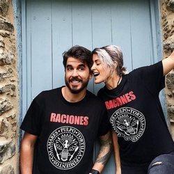 Barei con su novio Rubén Villanueva muy feliz
