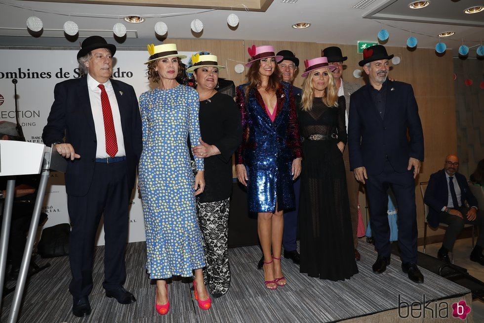 Algunos de los invitados a los Premios Bombines de San Isidro de 2018