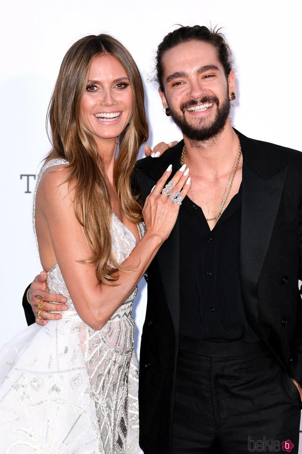 Heidi Klum y Tom Kaulitz en el Festival de Cannes 2018